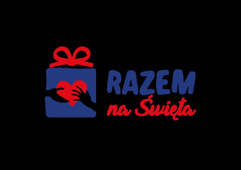 """Logo akcji """"Razem na Święta"""" organizowanej przez Ministerstwo Edukacji i Nauki"""