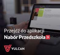 VULCAN - Nabór do przedszkoli